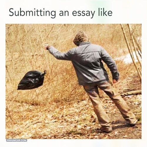 submitting an essay