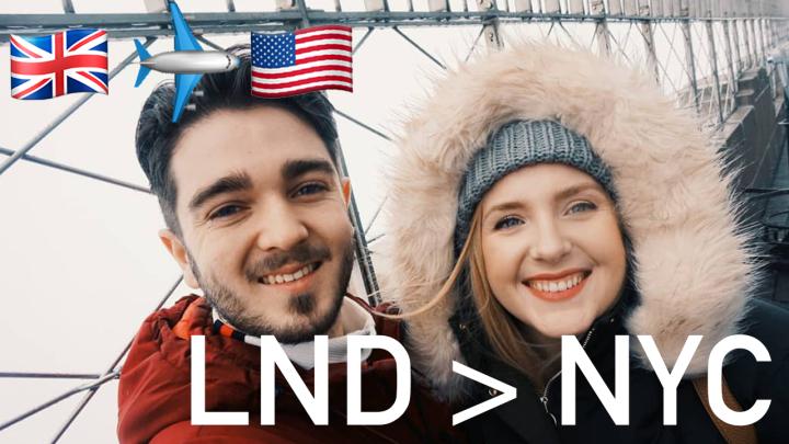 Vlog 1: Travelling AroundNYC